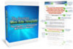 Thumbnail Amazing Mini Site Templates Pack-with 2 Mystery BONUSES!