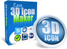 Easy 3D Icon Maker - with 2 Mystery BONUSES!
