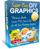 Thumbnail Super Easy DIY Graphics Pack V2 - with 2 Mystery BONUSES!