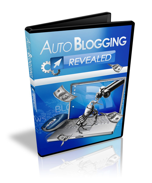Product picture Autoblogging Revealed Video Course - with BONUS!