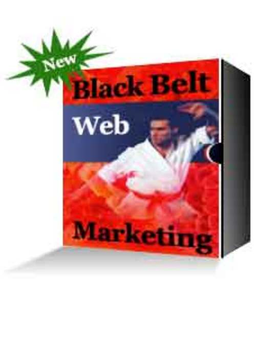Product picture Black Belt Web Marketing - Master Resell Rights + BONUS!
