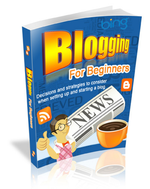 Product picture Blogging For Beginners - Master Resell Rights + BONUS!