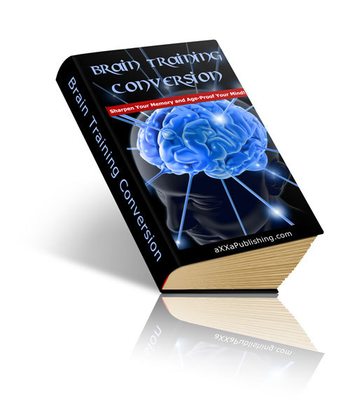 Product picture Brain Training - with FULL Private Label Rights + BONUS!