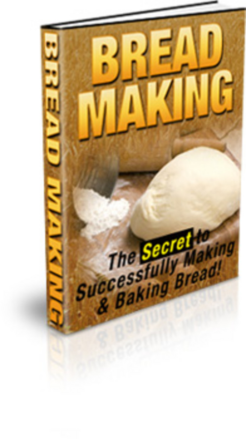 Product picture Bread Making - with FULL Private Label Rights + BONUS!