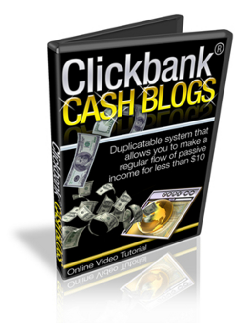 Product picture ClickBank Cash Blogs Video Set - with BONUS!