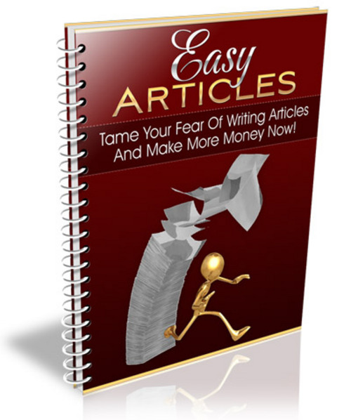 Product picture Easy Article Marketing - with Private Label Rights + BONUS!