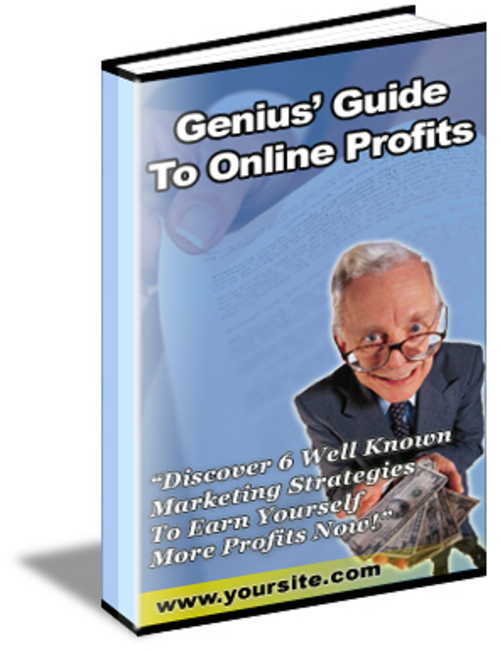Product picture Genius Guide To Online Profits - with Master Resell Rights!