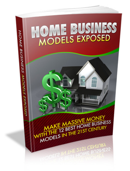 Product picture Home Business Models Exposed - FULL PLR + Mystery BONUS