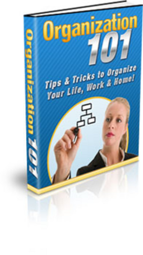 Product picture How To Organize Your Life - with FULL PLR+MYSTERY BONUS