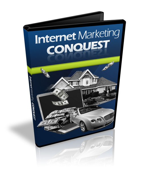 Product picture Internet Marketing Conquest Video Course - with BONUS!