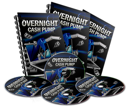 Product picture Overnight Cash Pump Video Course - with RR + MYSTERY BONUS!