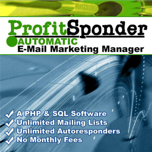 Product picture ProfitSponder Mailing List and Autoresponder Script - MRR!