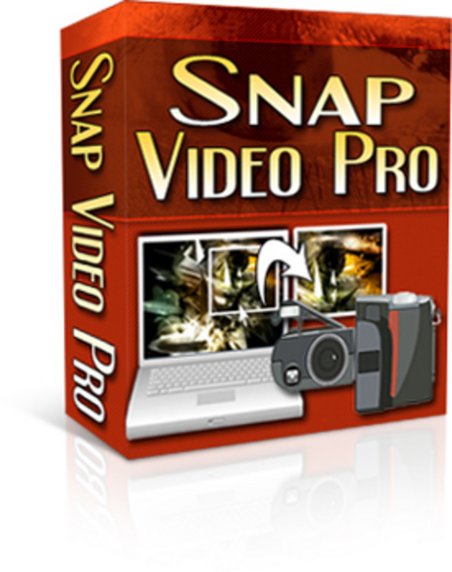 Product picture Snap Video Pro - with Private Label Rights + MYSTERY BONUS!