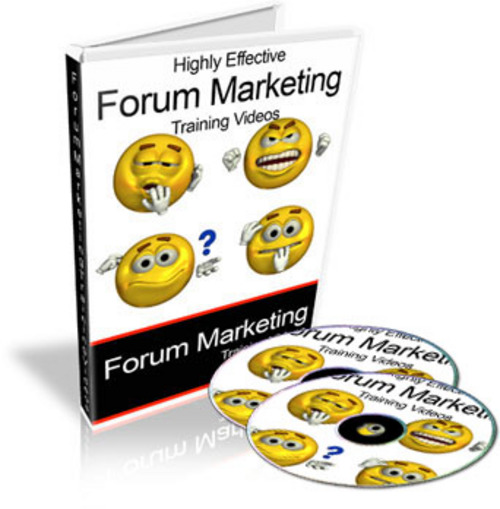 Product picture Super Forum Marketing Videos - with PLR + MYSTERY BONUS!