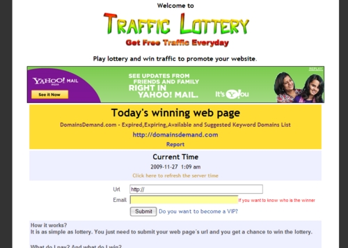 Product picture Traffic Lottery Script - with Master Resell Rights + BONUS!