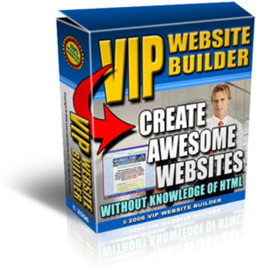 Product picture VIP Website Builder Software - with PLR + MYSTERY BONUS!