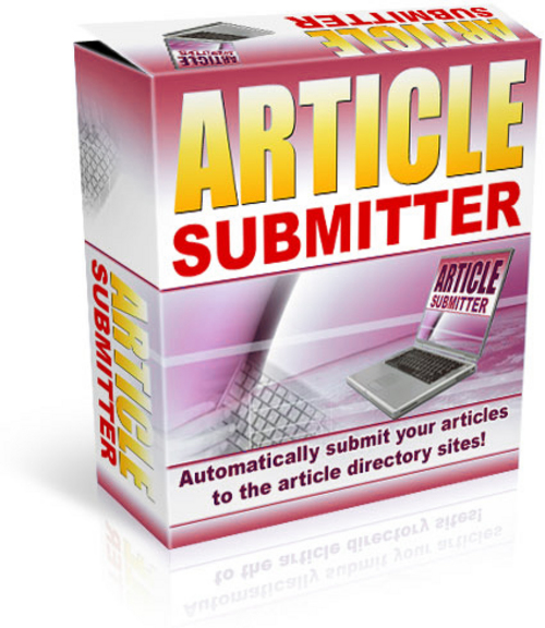 Product picture Article Submitter Software - with PLR + MYSTERY BONUS!