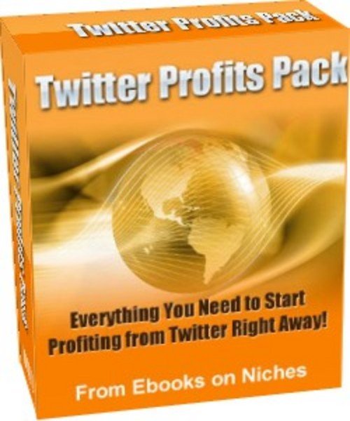 Product picture Twitter Profits Pack - with a Mystery BONUS!