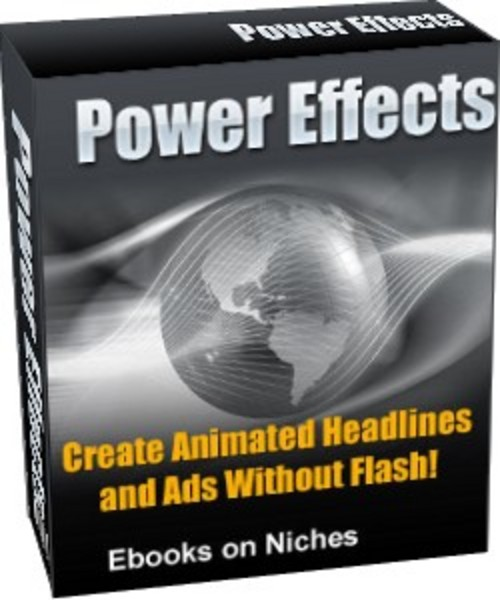 Product picture Power Effects - with Master Resell Rights+2 Mystery BONUSES!