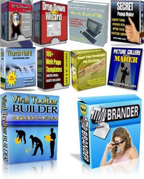 Product picture Ultimate Website Building Kit for Webmasters-with MRR+BONUS