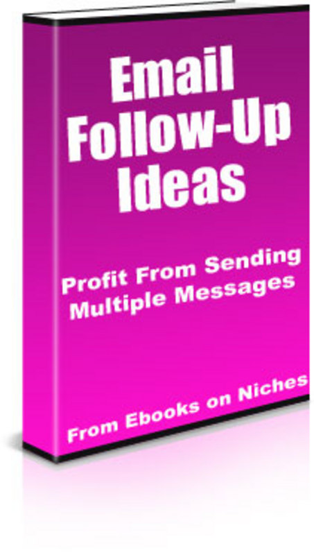 Product picture How To Profit From Sending Multiple Follow-Ups!