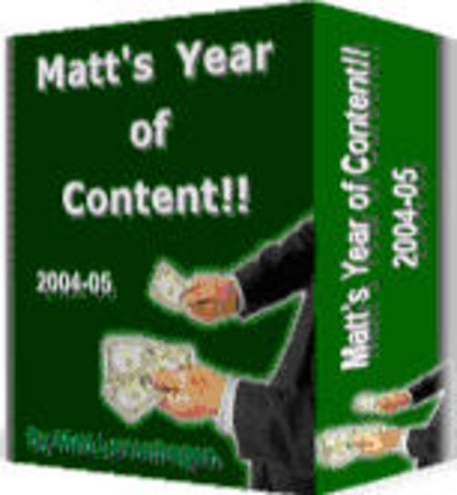 Product picture Internet Marketing Advice from Matt Levenhagen