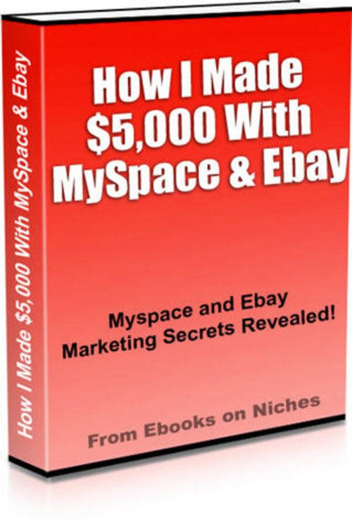 Product picture Myspace and Ebay Marketing Secrets Revealed!