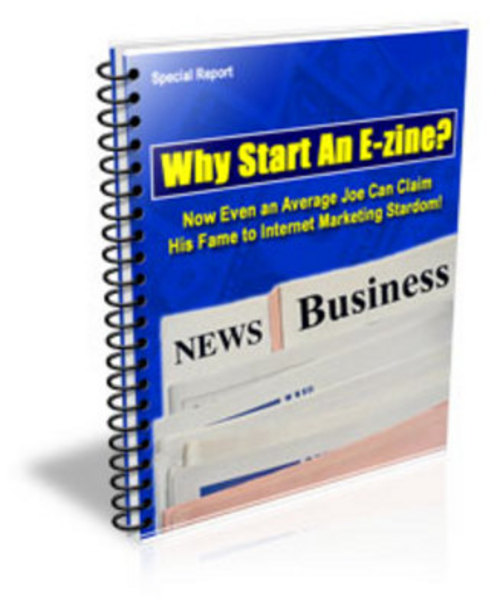 Product picture 5 Reasons Why You Should Publish an Ezine!
