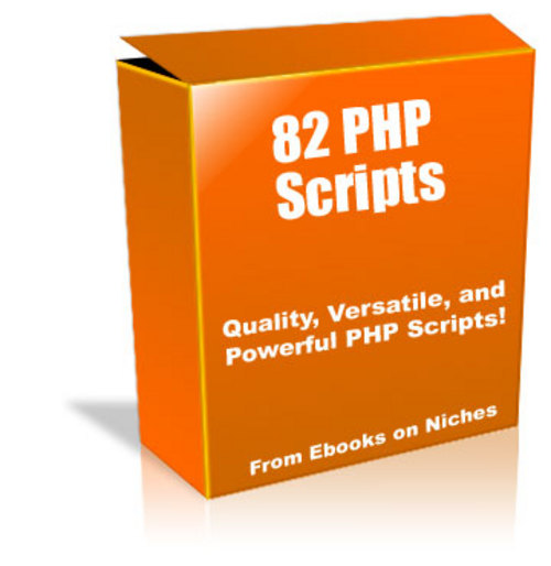 Product picture 82 Powerful PHP Scripts - with Master Resell Rights+BONUS