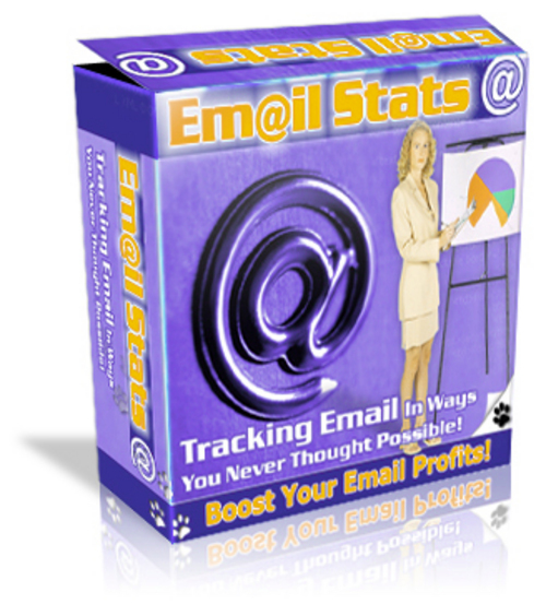 Product picture Email Stats Tracker Script - with Master Resell Rights+BONUS