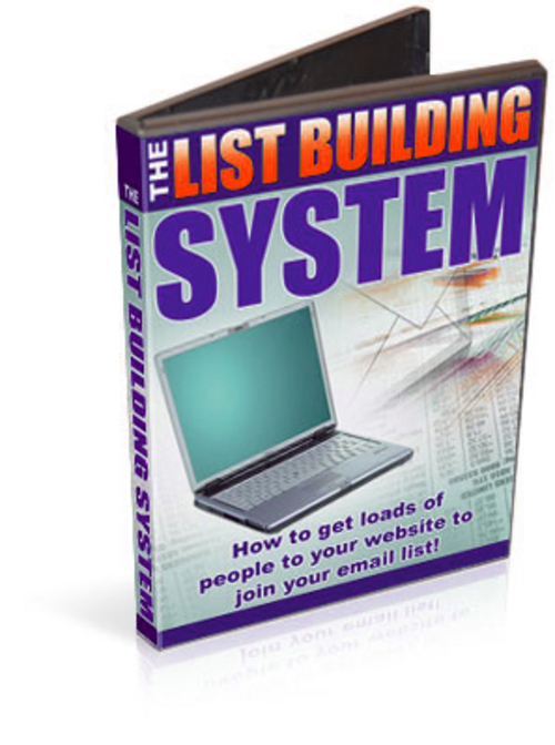 Product picture List Building System Video Course- with MRR+Mystery BONUS!