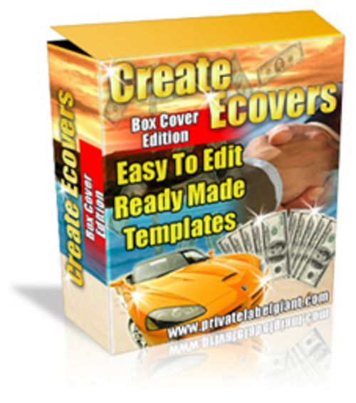 Product picture Software Box Cover Templates  - with FULL PLR+BONUS