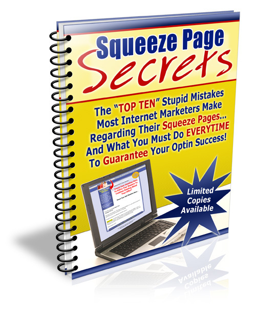 Product picture Squeeze Page Secrets - with FULL Private Label Rights+BONUS!