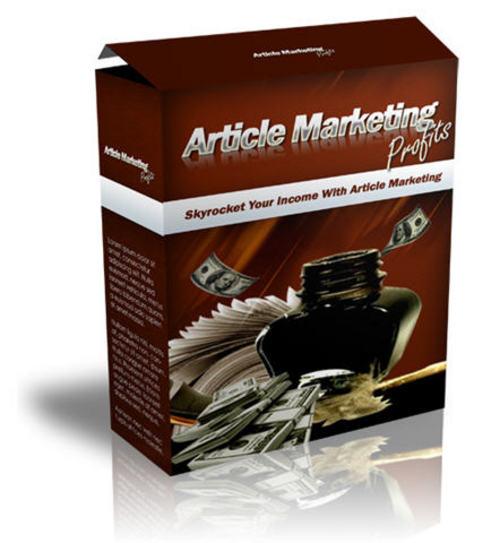 Product picture Article Marketing Profits Video Course - with MRR + BONUS!