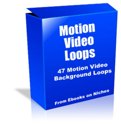 Product picture 47 Video Motion Background Loops - with PLR+2 BONUSES!