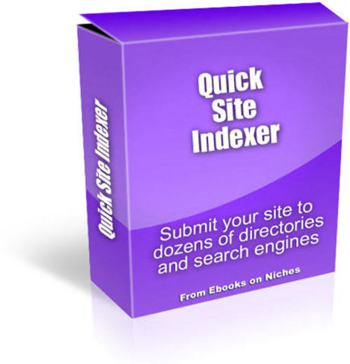 Product picture Quick Site Indexer Software - with MRR+2 Mystery BONUSES