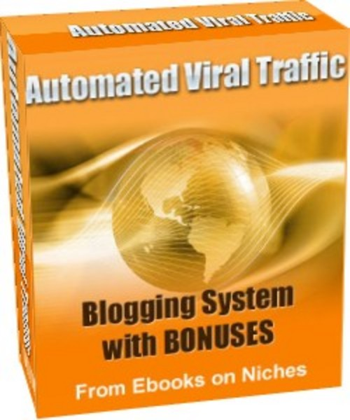 Product picture Automated Viral Traffic Blogging System + 3 Mystery BONUSES!