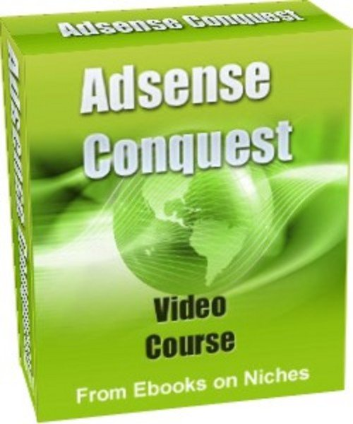 Product picture Adsense Conquest Video Course- with MRR + 2 Mystery BONUSES!