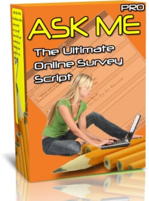 Product picture Ask Me Pro Survey Script - MRR + 3 Mystery BONUSES!