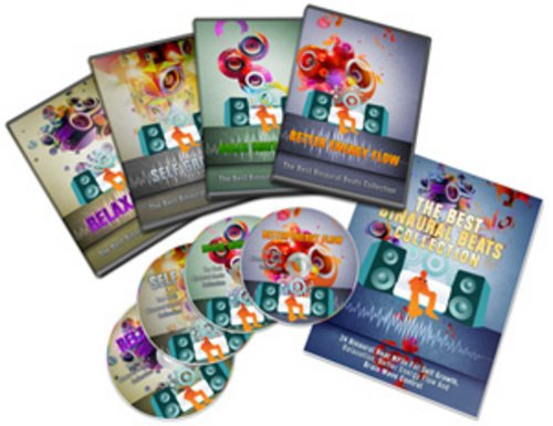 Product picture Binaural Beats - MP3 Audios with MRR + 2 Mystery BONUSES!