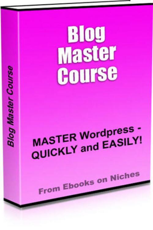 Product picture Blog Master Video Course - with 2 Mystery BONUSES!