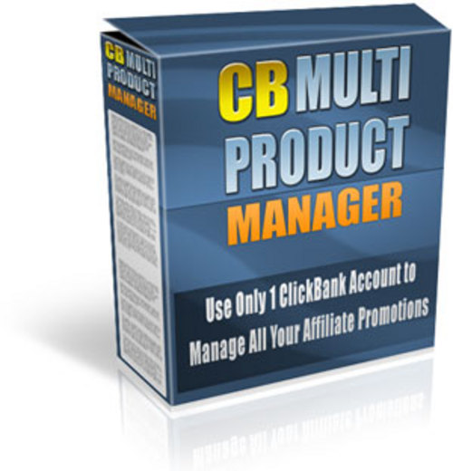 Product picture ClickBank Multi-Product Manager - MRR + 2 Mystery BONUSES!