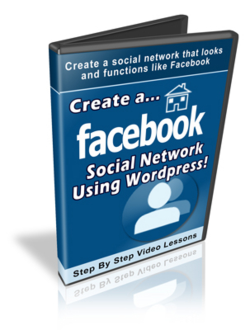Product picture Create a Social Network Using WordPress-Video Course+BONUSES