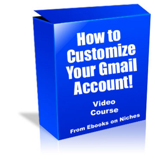 Product picture Customizing Your Gmail Account - MRR + 2 Mystery BONUSES!
