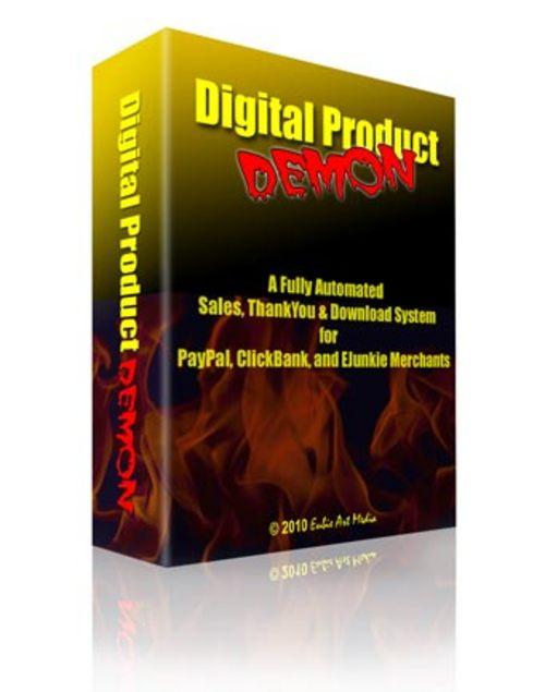 Product picture Digital Product Demon Script - MRR + 2 Mystery BONUSES!