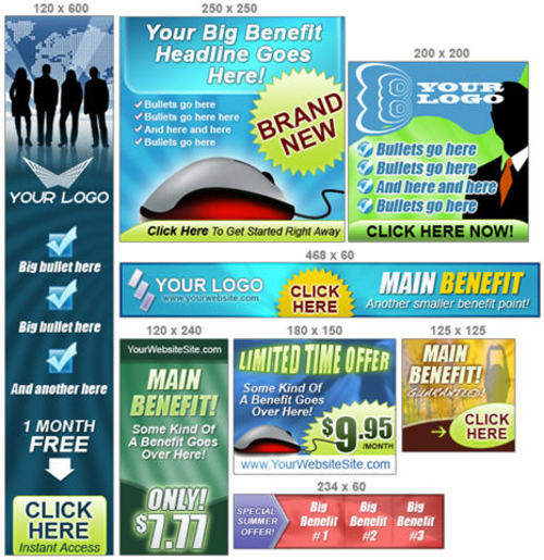 Product picture Easy Banner Maker Pro - Banner Templates+2 Mystery BONUSES!