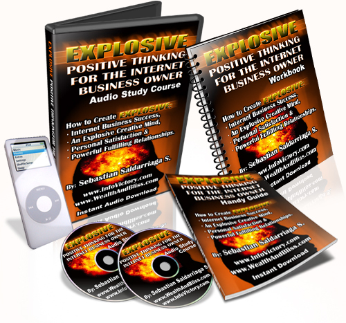 Product picture Explosive Positive Thinking for the Internet Business Owner!
