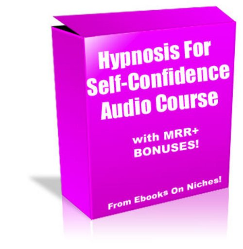 Product picture Hypnosis For Self-Confidence Audio - MRR + 2 Mystery BONUSES