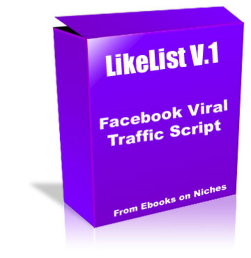 Product picture LikeList Facebook Viral Traffic Script - MRR + 2 BONUSES!