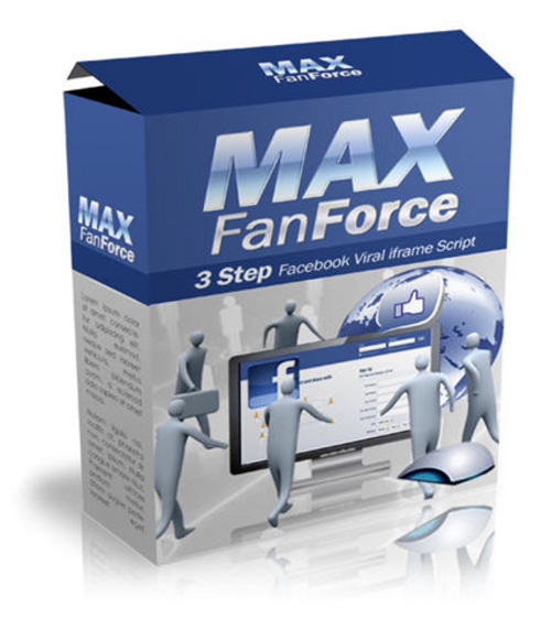 Product picture MaxFanForce Facebook Like Script - MRR + 2 Mystery BONUSES!